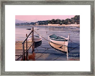 Yellow Days Framed Print by Michael Swanson