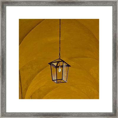 Yellow Framed Print by Eugenia Kirikova