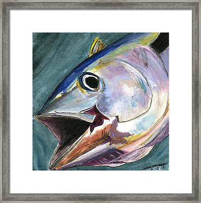 Yellow Fin Framed Print