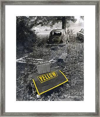 Yellow Framed Print by   Joe Beasley