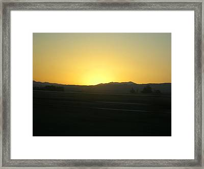 Framed Print featuring the photograph Yellow by Kristen R Kennedy