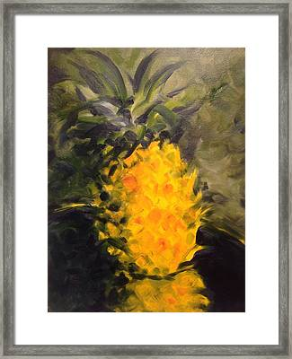 Yellow Light Framed Print