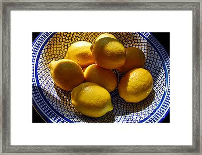 Yellow Mellow  Framed Print by Alexandra Jordankova