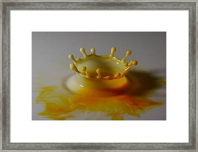 Yellow Framed Print by Mike Farslow