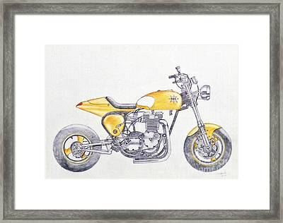 Yellow Peril Framed Print by Stephen Brooks