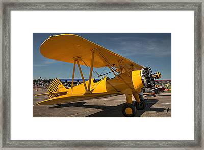Yellow Framed Print by Philip Rispin
