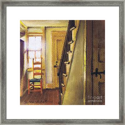 Yellow Room Framed Print by Susan Herbst