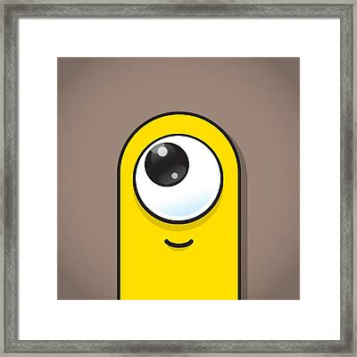 Yellow Framed Print by Samuel Whitton