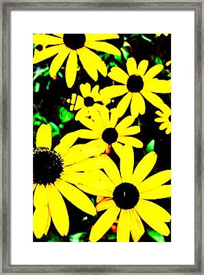 Yellow Stroll Framed Print by Paul Tully
