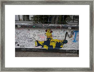 Yellow Submarine Framed Print by Timothy Johnson