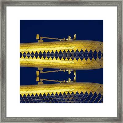Yellow Subs Framed Print by Wayne Sherriff