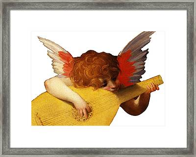 Yellow Tune Framed Print