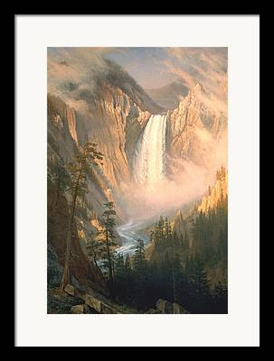 Bierstadt Digital Art Framed Prints