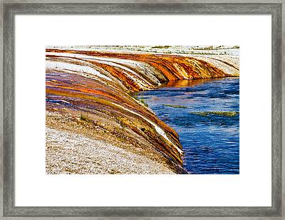 Yellowstone Earthtones Framed Print