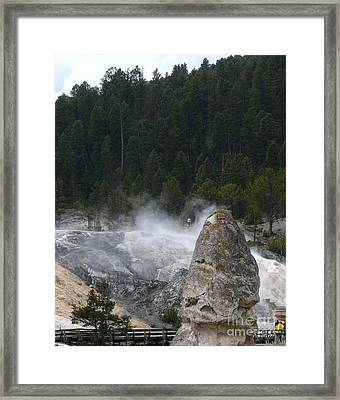 Yellowstone Framed Print by Jeff Pickett