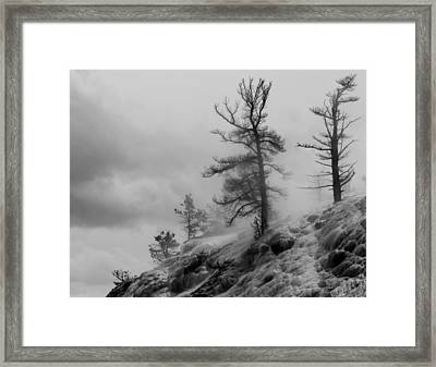 Yellowstone Moonscape Ynp Framed Print