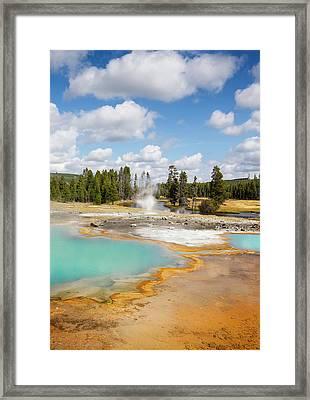 Yellowstone National Park, Wyoming, Usa Framed Print
