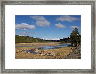 Yellowstone Park 2 Framed Print