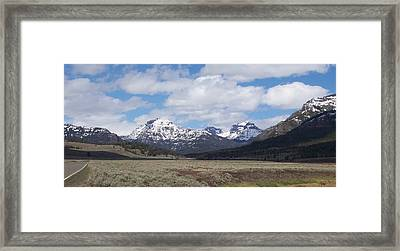 Yellowstone Park Framed Print