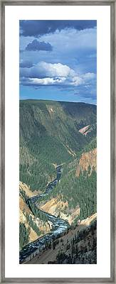 Yellowstone River, Yellowstone National Framed Print by Panoramic Images