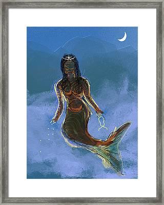Yemanja Framed Print