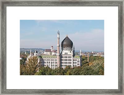 Yenidze Cigarette Factory Dresden Framed Print by Michael Defreitas
