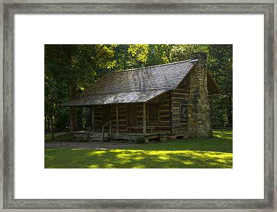Yeoman Farmhouse At Kings Mountain Framed Print by Chris Flees
