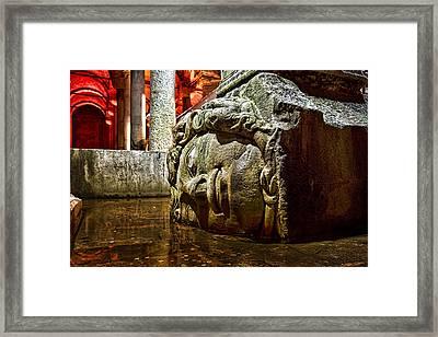 Yerebatan Sarnici / The Sunken Cistern Framed Print