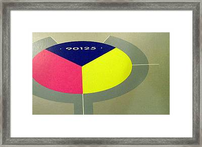 Yes 90125 Cover Framed Print by Marcello Cicchini