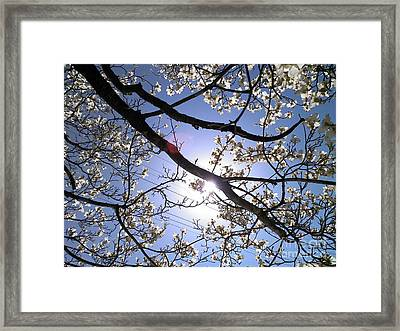 Framed Print featuring the digital art Yes  I Can Hear You by Angelia Hodges Clay