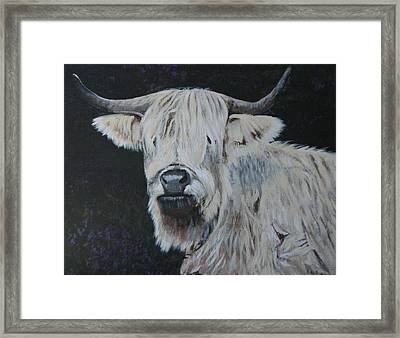 Yes  I Can See Framed Print by Betty-Anne McDonald