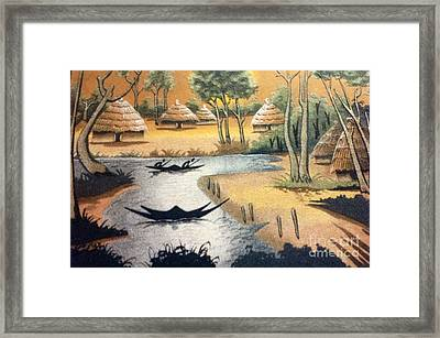 Yesayah Village  Framed Print