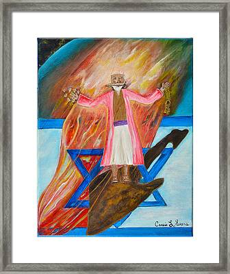 Yeshua Framed Print by Cassie Sears