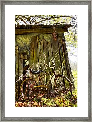 Yesterday Framed Print by Debra and Dave Vanderlaan