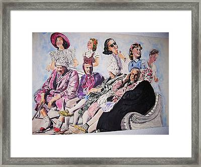 Yesterday Framed Print by Linda Vaughon