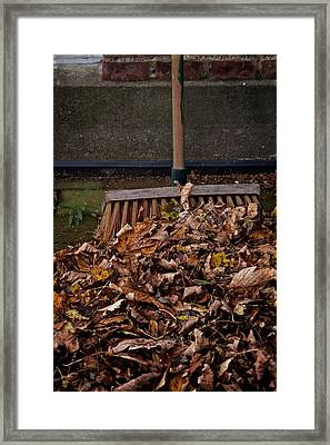 Yesterday Today And Tomorrow Framed Print by Odd Jeppesen
