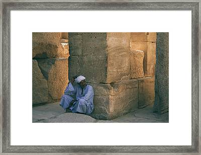 Yesterdays.. Framed Print