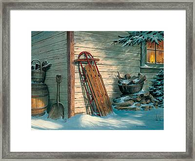 Yesterday's Champioin Framed Print by Michael Humphries