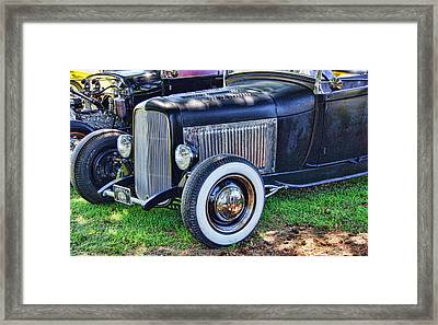 Yesterdays Hot Rod Framed Print by Ron Roberts
