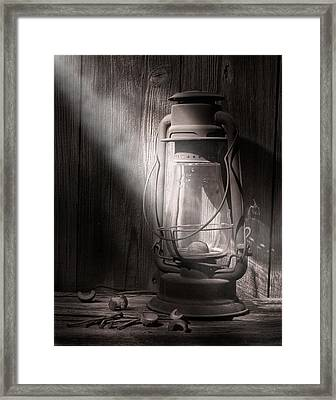 Yesterday's Light Framed Print by Tom Mc Nemar