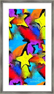 Yesterday's Rainbow Framed Print by Chris Butler