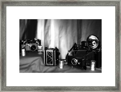 Yesterdays Tools Framed Print