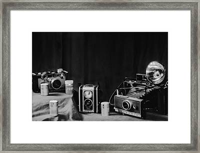 Yesterdays Tools II Framed Print