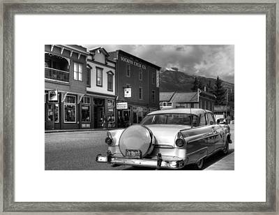 Yesteryear Framed Print by Dawn Currie