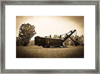 Yesteryear Framed Print by Rhonda Barrett