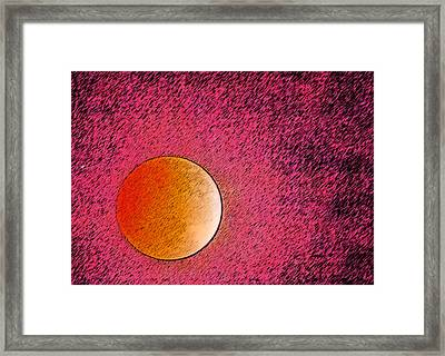Yet Another Blood Moon Framed Print by Carolina Liechtenstein