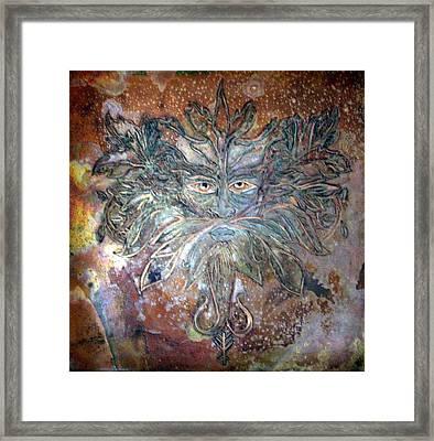 Yggdrasil Rune Greenman Framed Print