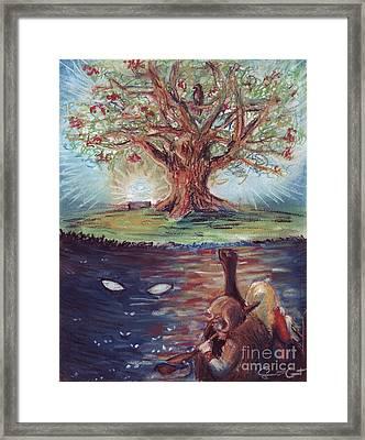 Yggdrasil - The Last Refuge Framed Print