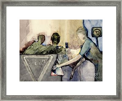 Yield Framed Print by Helen Hayes