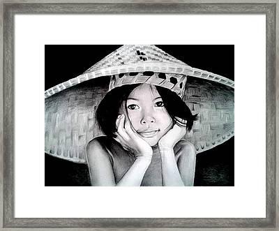 Yim Noi Framed Print